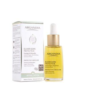 Elixir Protecteur Argan serum nourssissant visage huile d argan