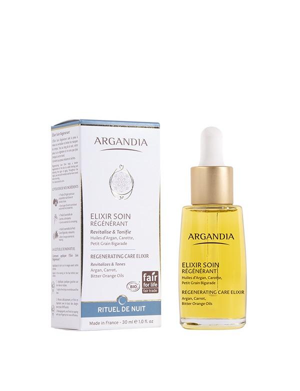 Elixir Régénérant Argan serum visage huile d argan