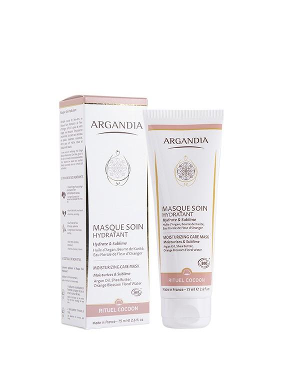 Masque Hydratant Argan visage huile d argan cosmetique bio