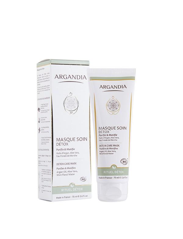 Masque Purifiant huile d Argan contre les boutons acnés