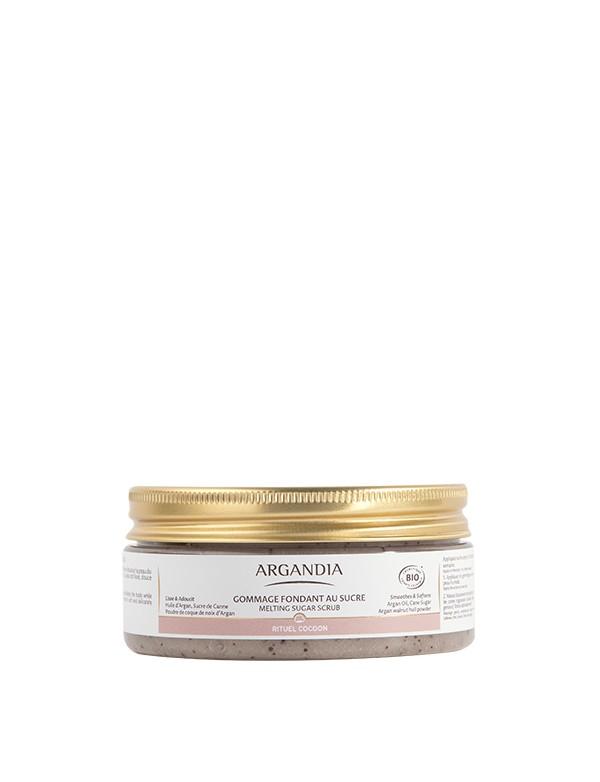 Gommage Corps Argan huile d argan gommage nourissant au sucre cosmetique bio
