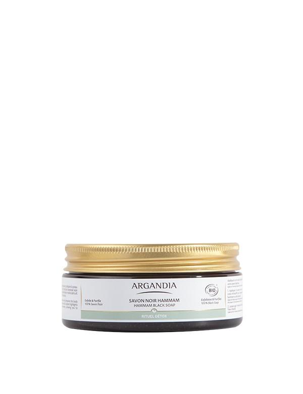 Savon Noir Hammam cosmetique corps huile d argan bio