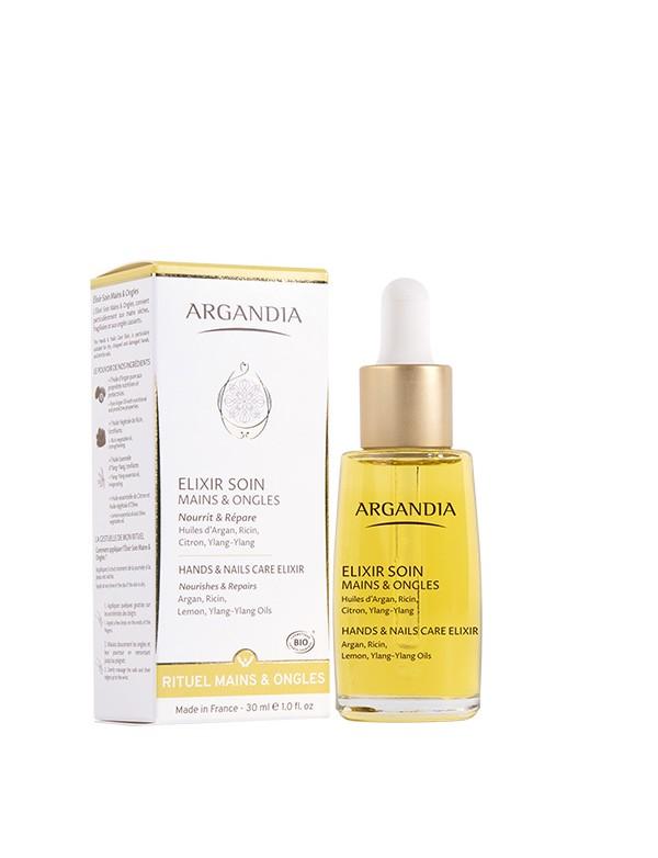 Elixir Mains & Ongles Argan huile pour les mains nourissantes huile d argan
